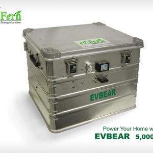EVBEAR 5KB - lithium ion rechargeable battery