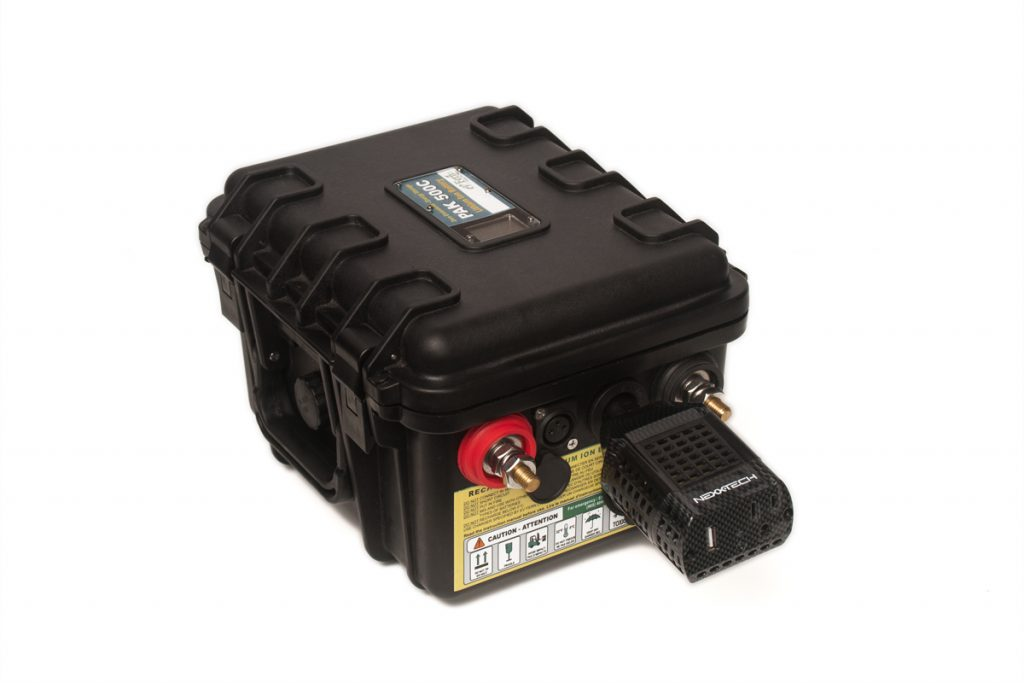 PAK 500C Portable Battery With Charger